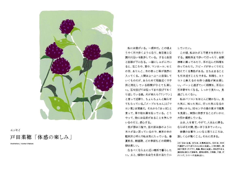 戸田菜穂「体感の楽しみ」